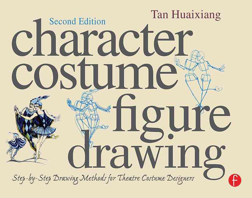Character Costume Figure Drawing By Huaixiang, Tan