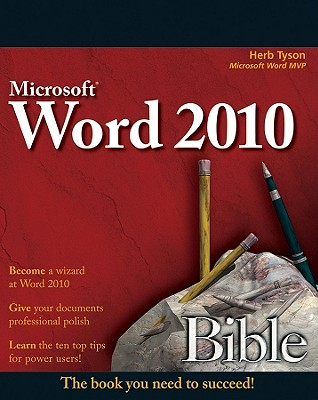 Microsoft Word Bible 2010 By Tyson, Herb